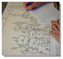 Atelier Taiccap' Aquarelle Simone Coquelicots 1