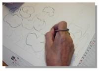 Atelier Taiccap' Aquarelle Simone Coquelicots 2