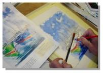 Atelier Taiccap' Aquarelle Simone Mouillage à St J de L. 4