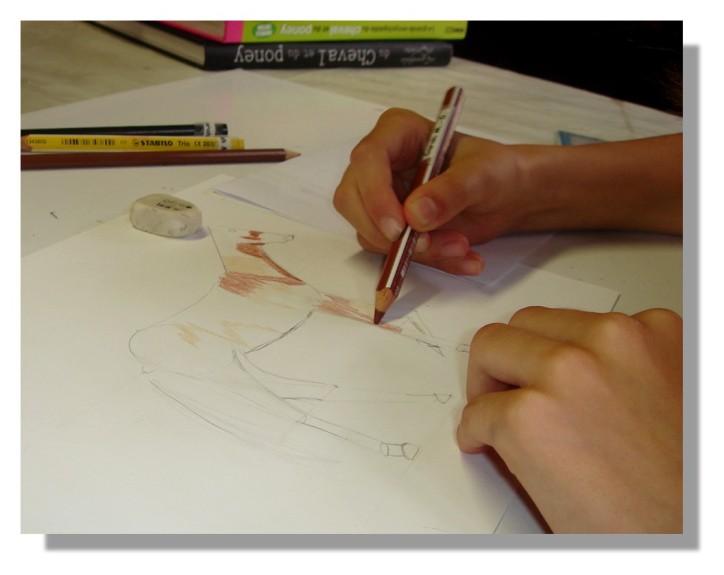 Atelier Taiccap' Dessin Delphine 1