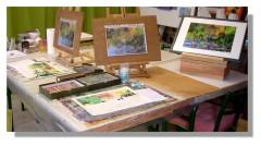 Atelier Taiccap' Pastel Rose-Marie Reflets sur l'étang de Giverny 2