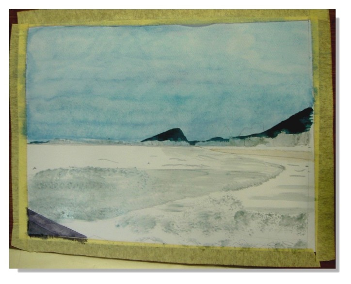 Beatrice Paysage Aquarelle 5
