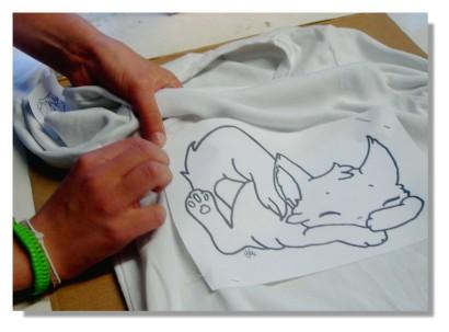 Milena Chat Transfert tee-shirt 1