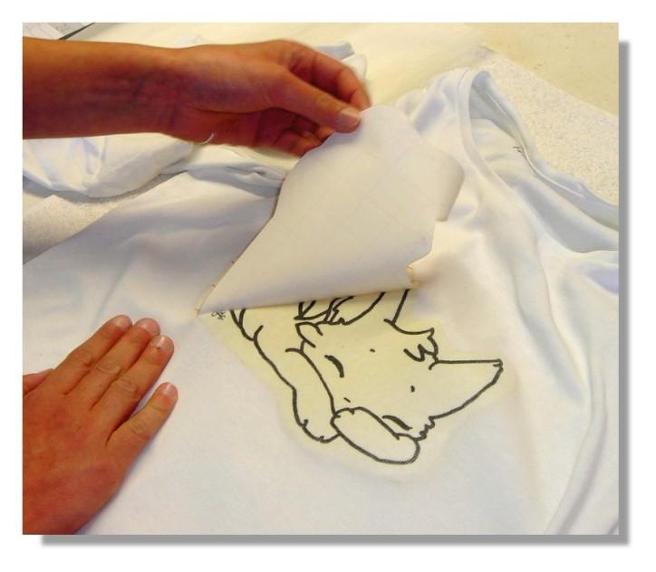 Milena Chat Transfert tee-shirt 2