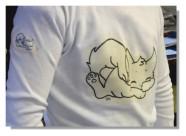 Milena Chat Transfert tee-shirt 3